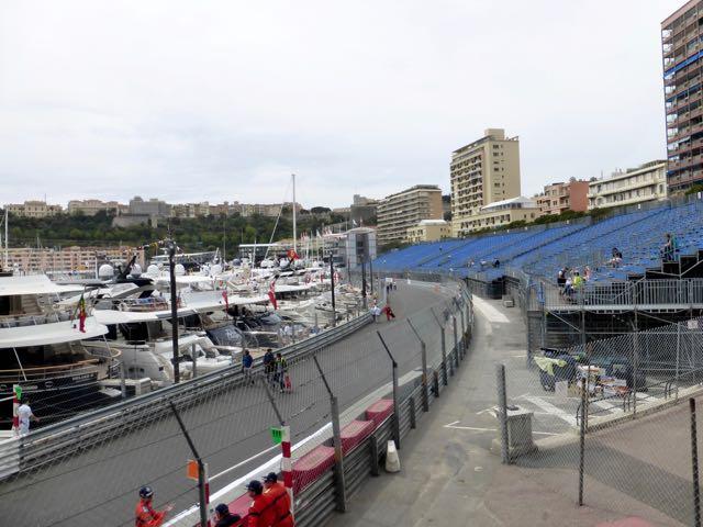 Monte Carlo getting ready for the Grand Prix